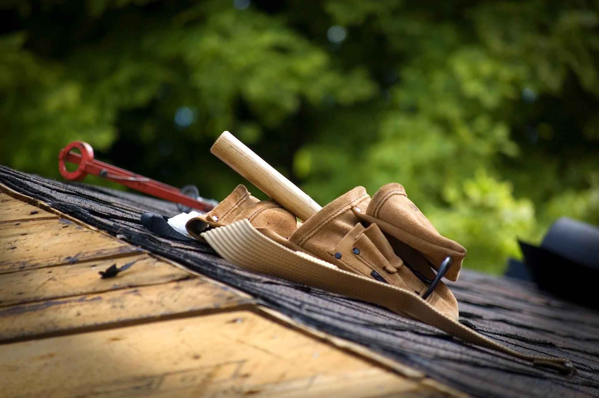 New roof installation preparation