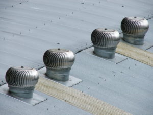 Wind Turbine roof vents