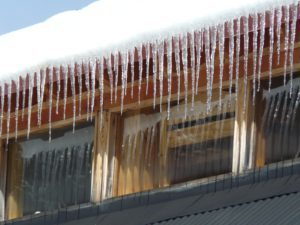 Roof Inspection before ice damage