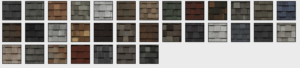 Landmark Shingle Selection at Eastbrook Construction!