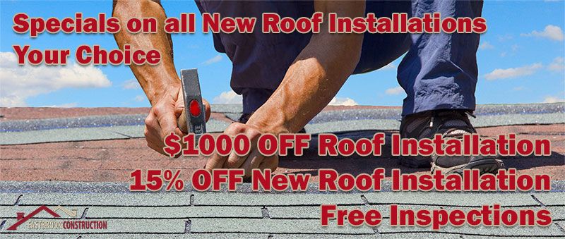 new roof discount for fall